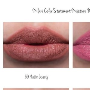 New Milani Color Statement Matte Lipstick